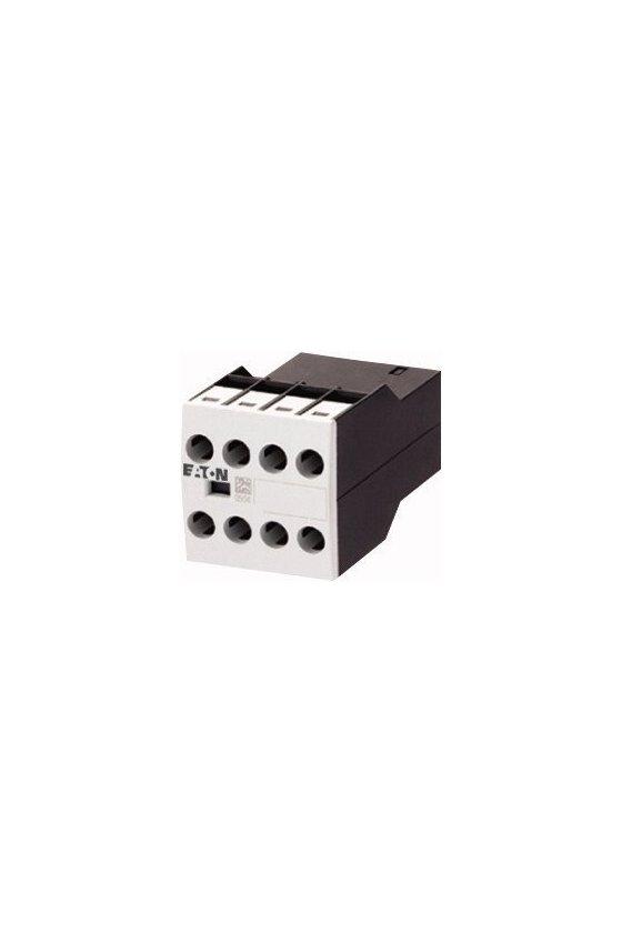 17464 Módulo de contacto auxiliar, contacto auxiliar de montaje frontal, 4 polos DILA-XHI13