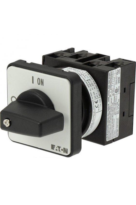 24639 Interruptor de encendido y apagado, T0, 20 A, montaje empotrado, 2 unidad (es) de contacto T0-2-1 / E