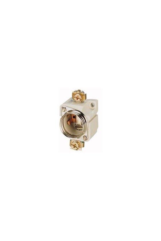 25073 Base de fusible, 25A, 500 V, DII / E27, tornillo montado S27-1 / C / FORMP