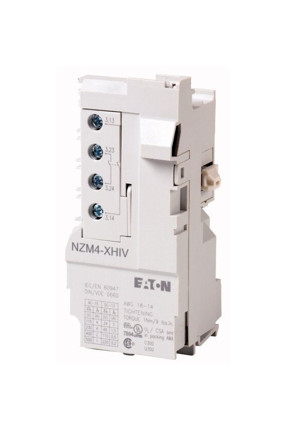 26617 contacto auxiliar, 2 N / O temprano NZM4-XHIV