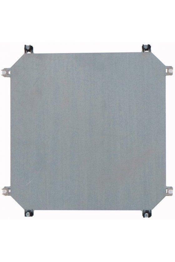 31574 Placa de montaje, acero, galvanizado, D - 3 mm, para caja CI44 M3-CI44