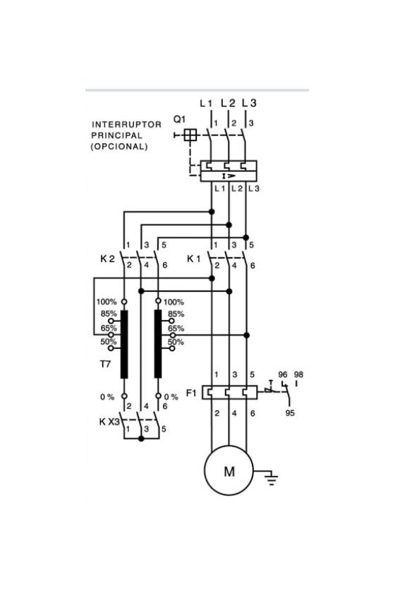 A7B10000002661 Autotransformadores para arranque a tensión reducida tipo ATP