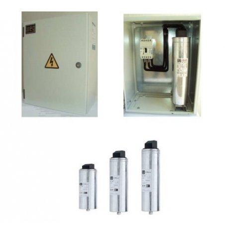 BF100480 Banco de condensadores sin interruptor automático carcasa metálica diseño mexicano
