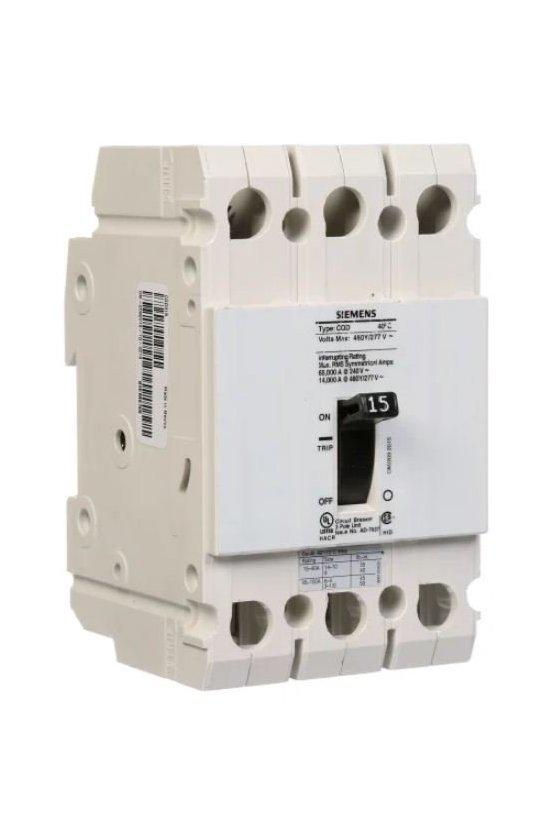 36648 Interruptores automáticos de caja moldeada de bajo voltaje de Siemens CQD370