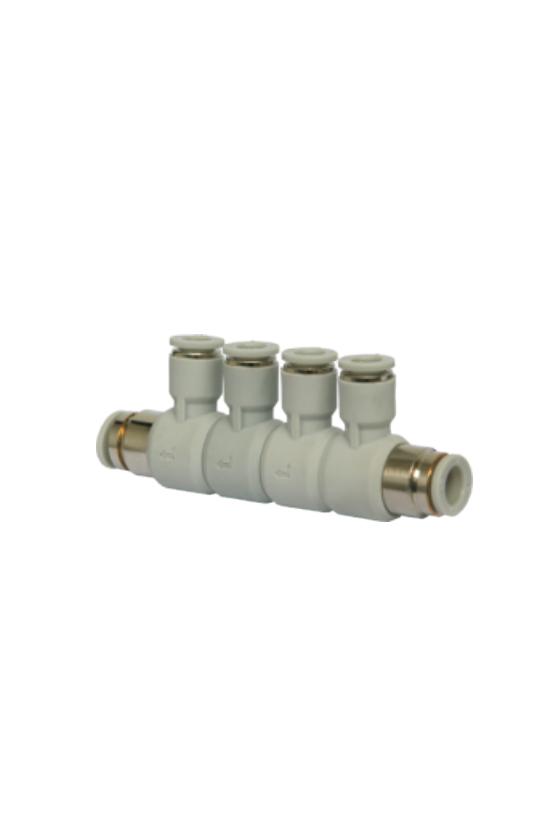 AFD4 Multiconector de 4 salidas en 4mm