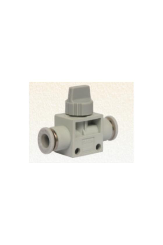 SKVFF06-06 Válvula manual 2/2 para manguera de 6mm