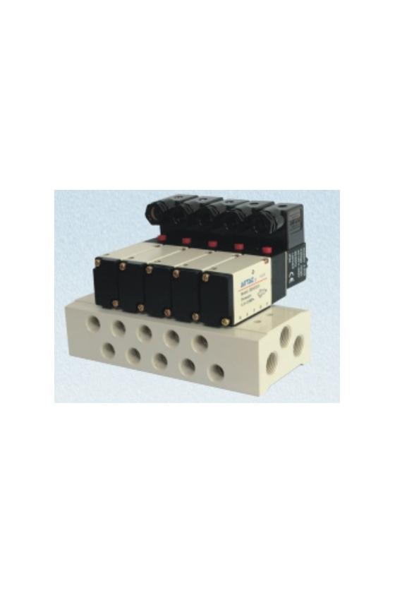 HD4V130C-CP Valvula 5 vías 3 posiciones doble solenoide p/manifold Serie 100 (todos los voltajes)