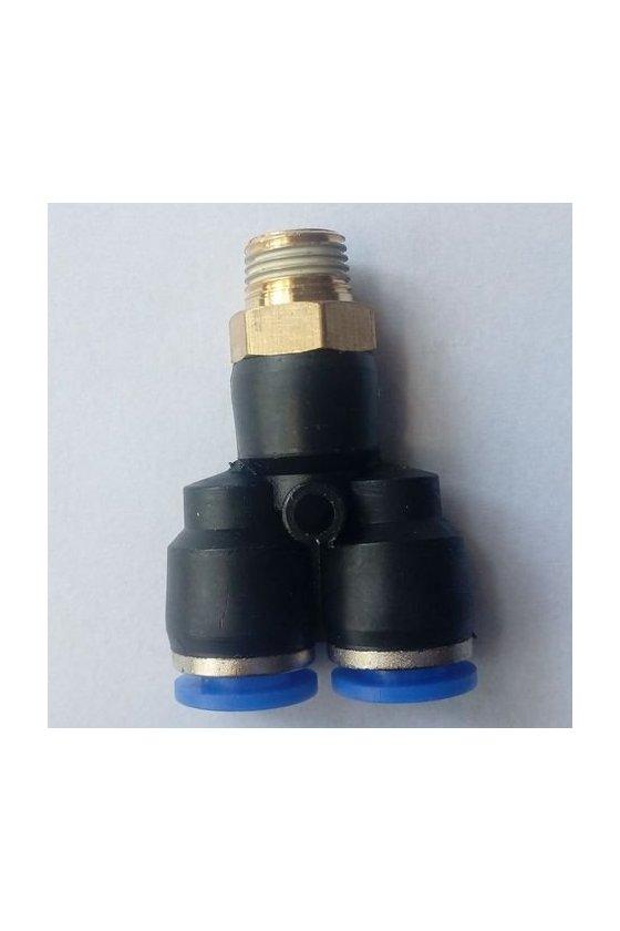 """SKX10-03 Conexión racor tipo Y tubo de 10mm rosca 3/8"""""""