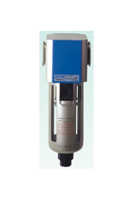 """GF600-25M Filtro puerto de 1"""" purga manual vaso de metal"""