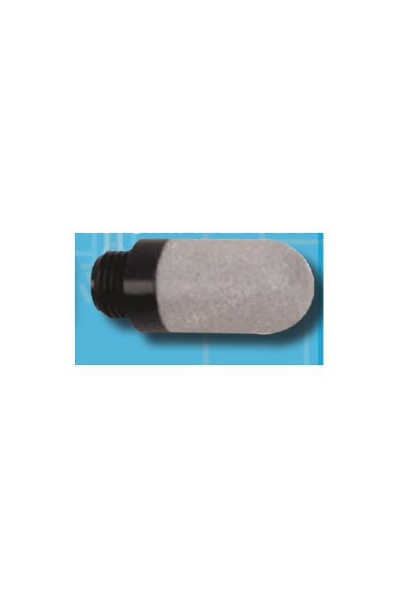 """PSE-02 Silenciador plástico sinterizado de 1/4"""""""