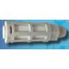 """PSU-02 Silenciador plástico gris de 1/4"""""""