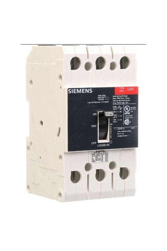 LGB3B050B Interruptor de circuito de marco g de bajo voltaje siemens