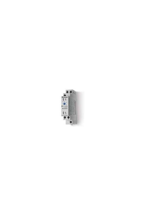 80.01.0.240.0000 Series 80 - Temporizadores modulares 1 - 6 - 8 - 16 A