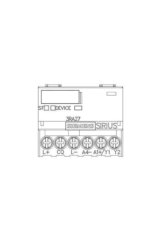 3RA2712-1AA00 Módulo de funciones para AS-i, arranque directo
