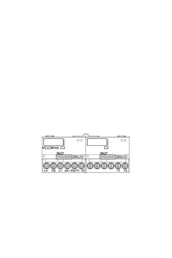 3RA2712-1CA00 Módulo de funciones para AS-i, terminal de tornillo de arranque estrella-triángulo