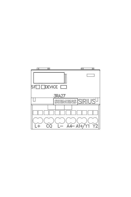 3RA2712-2BA00 Módulo de funciones para AS-i, arranque de marcha atrás