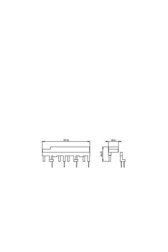 3RA2923-3DA1 Bloque de cableado superior para combinación de contactores