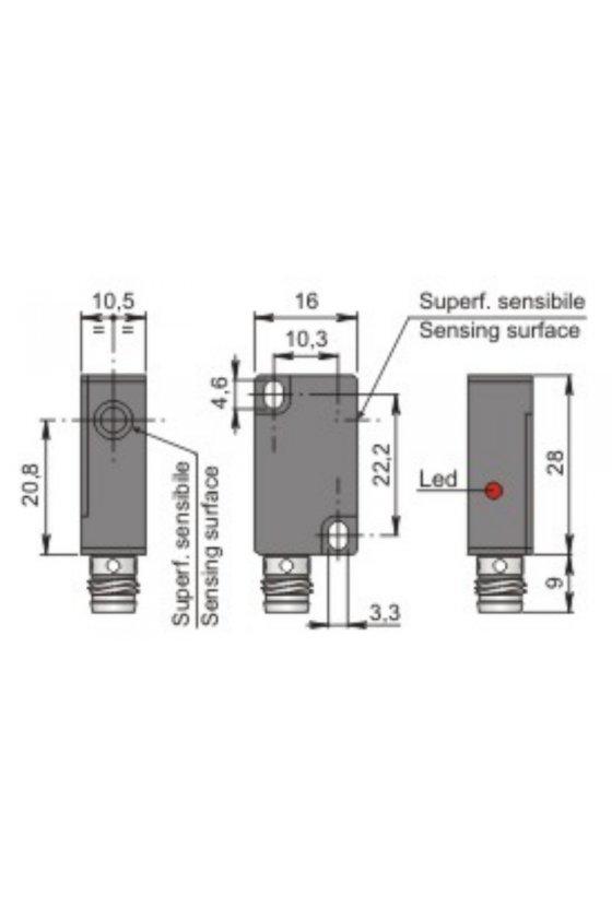 SIP10C2 NPN NOH1 (SIP000073) SENSOR DE PROXIMIDAD 10MM DIAM SENSA 2MM 6-30VDC