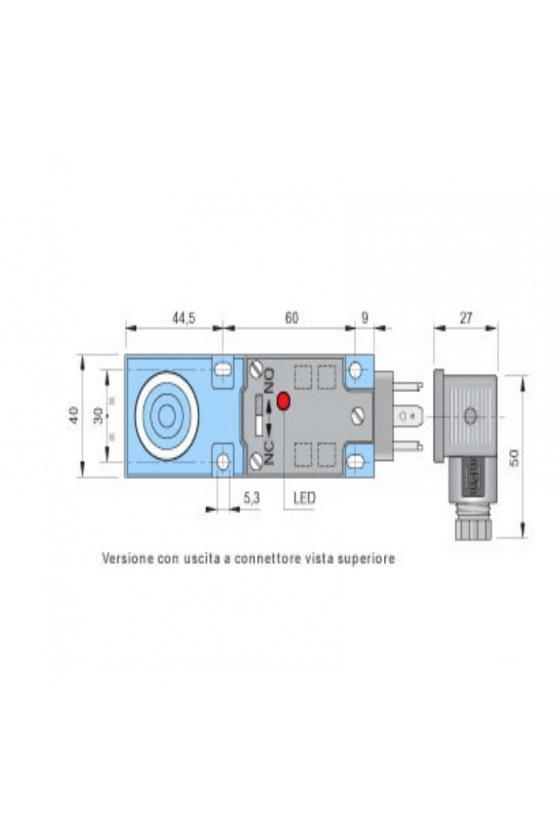 SIP40AE20 NONC K (SIP000086) SENSOR DE PROX40MM DIAMSENSA 20MM 20-250VAC