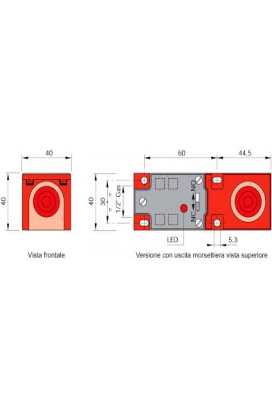 SIP40C15NPN NONC (SIP000096) SENSOR RECTANGULAR SENS 15MM 10-55VDC