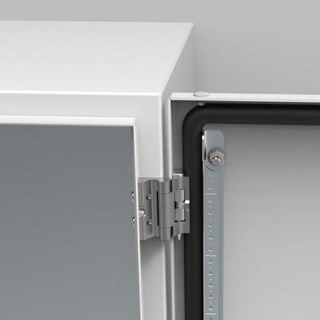 MMH03 Bisagras de aluminio 180º +800mm (3 piezas)