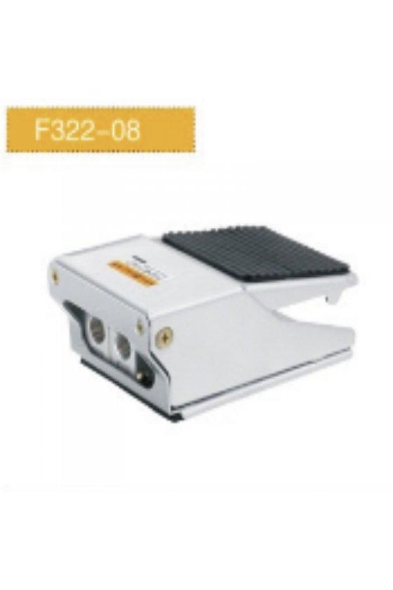F322-08PEDAL NEUMATICO 3 VIAS 2 POSICIONES 1/4 IN