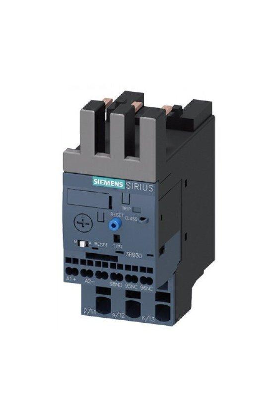 3RB3123-4QE0 Relé de sobrecarga 3RB30, 3RB31 para aplicaciones estándar