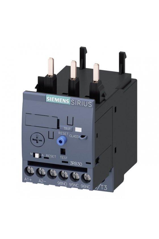 3RB3133-4UB0 Relé de sobrecarga 3RB30, 3RB31 para aplicaciones estándar