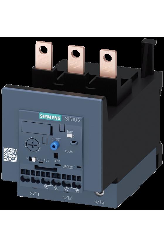 3RB3133-4WB0 Relé de sobrecarga 3RB30, 3RB31 para aplicaciones estándar