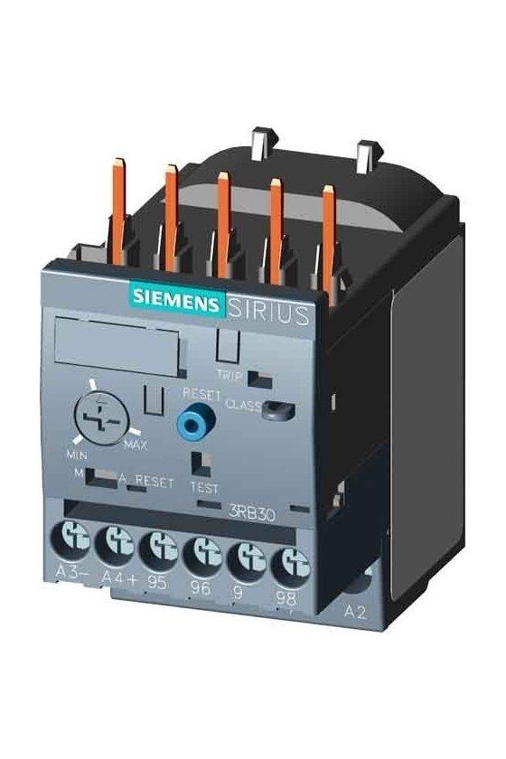 3RB3113-4TB0 Relé de sobrecarga 3RB30, 3RB31 para aplicaciones estándar