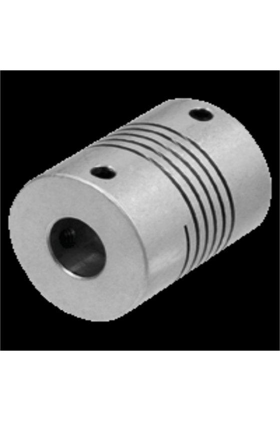 KW6/8 (030529) COPLE FLEXIBLE P/ENCODER DIAM 6 MM