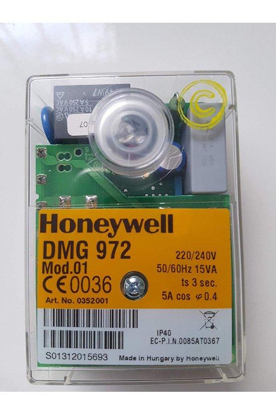DMG 972 Control para quemadores de gas/combustible