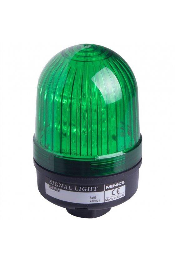 AVG-020-G Luz de señal, 24V, Verde, Giratoria 135mm color verde