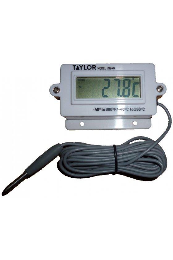 9940 Termómetro digital de montaje en panel -40ºC - 150ºC