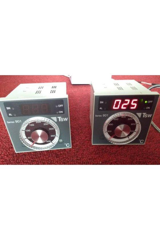 901J 100 0/0 IR Control de temperatura analógico de perilla 0-100 °C tipo J ON/OFF