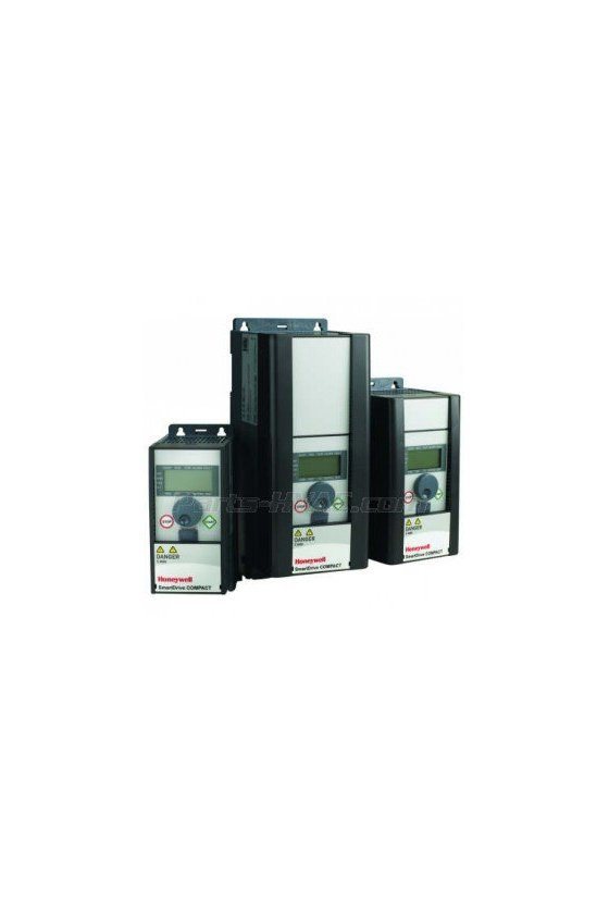 HVFDCD1B0007F00 Vfd compacto1 fase 208 / 230v .75hp completo