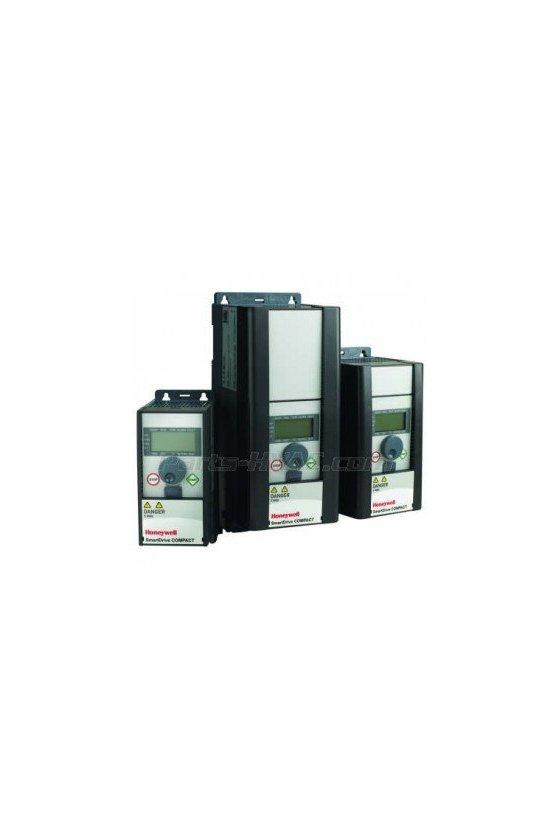 HVFDCD1B0020F00 Compact vfd 1-fase 208 / 230v 2hp full io