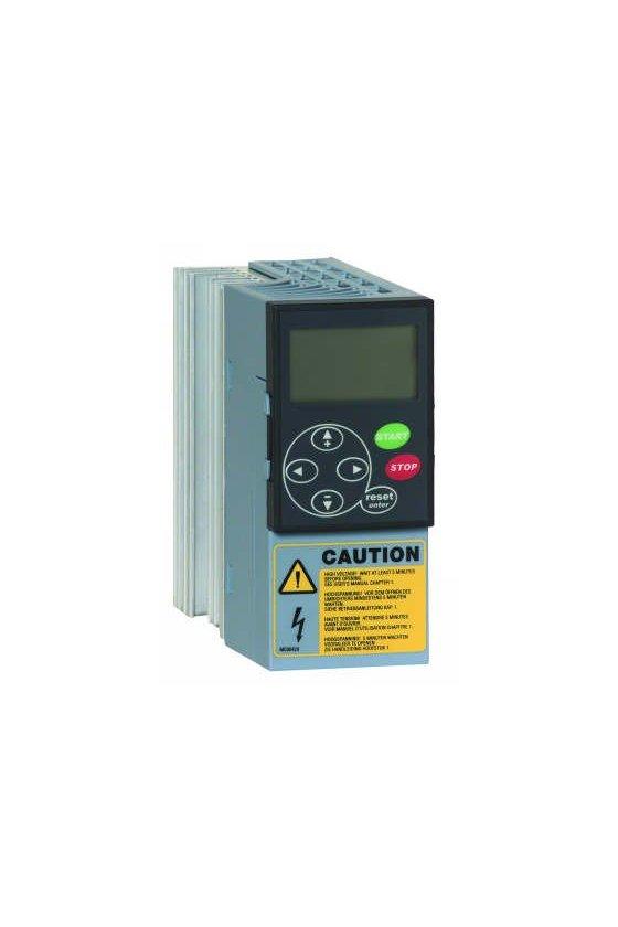 NXL0007A1006 Variador de frecuencia 3/4 hp 460v 3fases c/display