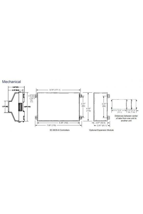 NC-8025 Controles distech ec-bos-8 core - 25 dispositivos / 1250 puntos