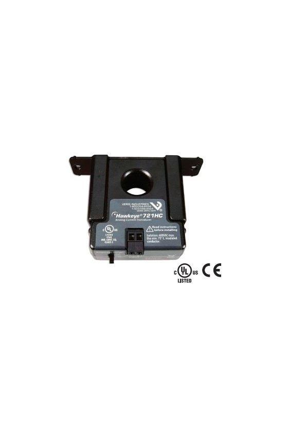 H721 TRANSDUCTOR DE CORRIENTE RANGO DE 5-55 AMPS.