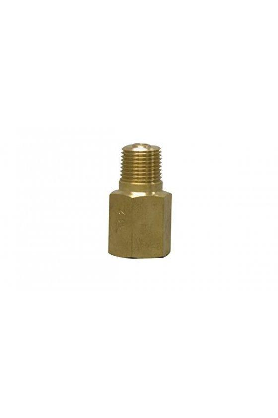 SSN514 AMORTIGUADOR BRONCE 1/2H-1/2M P/ACEITE PESADO