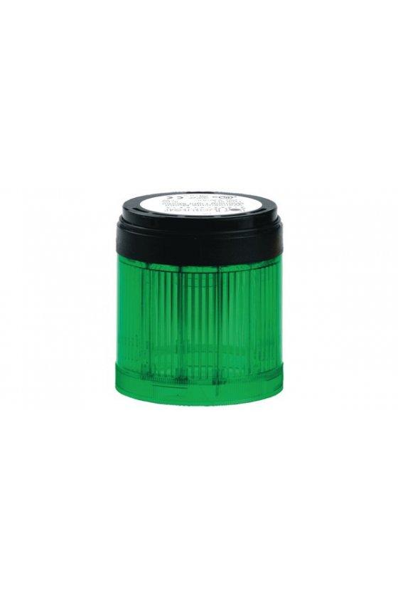 210506900 SLL SIGNAL70 Indicador luz fija color verde base negra hasta 250 V AC/DC