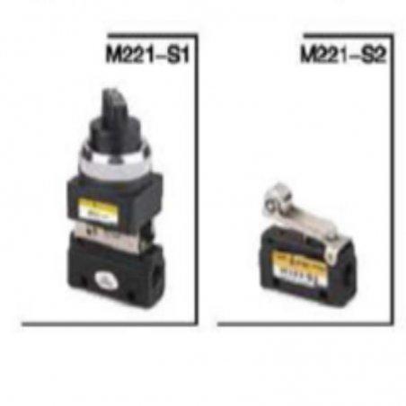 M221-S2/MV32-06S2 VALVULA DE RODILLO 2/2 DE 1/8