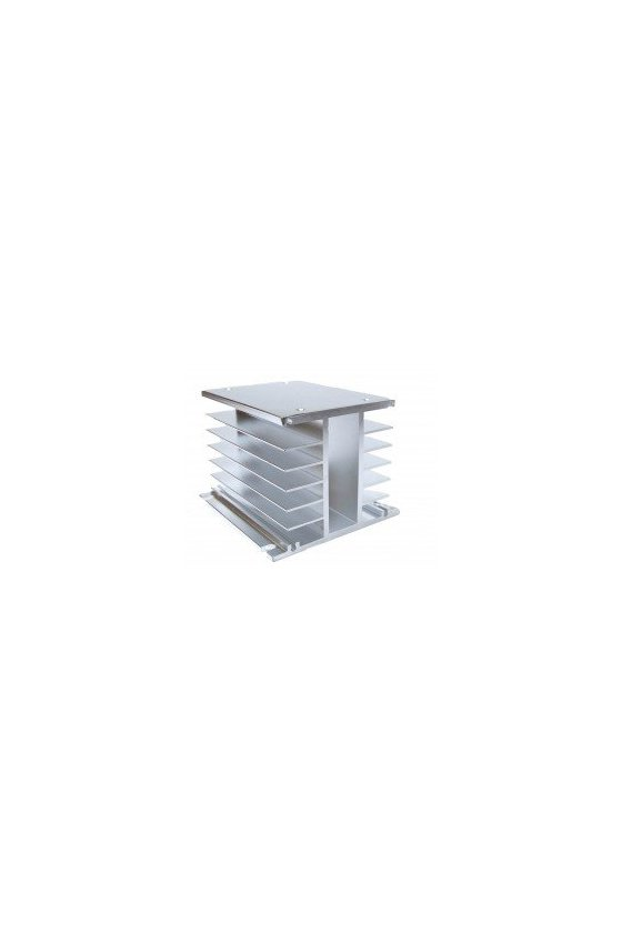 ZDWHB disipador 150x80x80mm aluminio trifásico 60amps