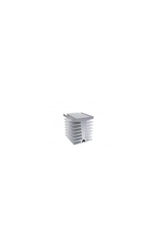 ZDWT disipador 80x80x70mm aluminio sencillo 80/100/120 amps