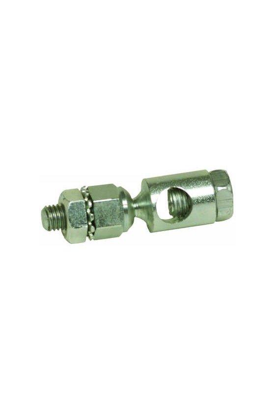 27518/B articulación esférica crankarm con roscas macho 1/4 - 28 unf, se ajusta a varillas de empuje de 5/16 pulgadas