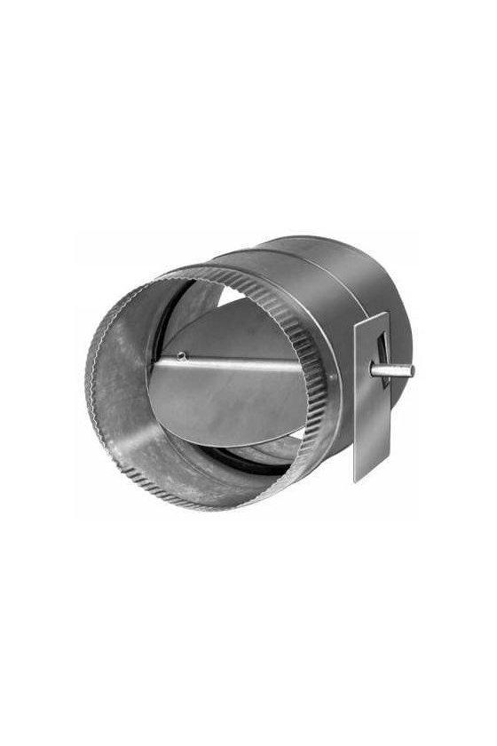 D690A1051 amortiguador redondo de una sola hoja de 16 pulgadas para usar con todos los actuadores de acoplamiento directo