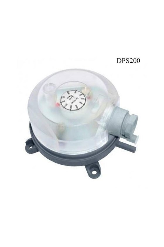 DPS200 dp-switch, 20-200 pa