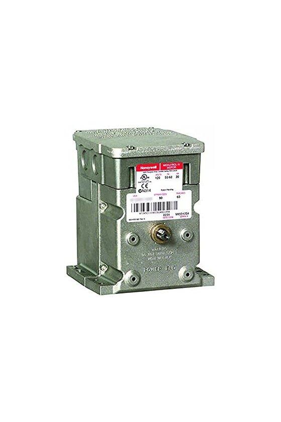 M6284F1013-S motor modultrol 150 lb-in, nsr, flotante con retroalimentación no lineal, 2 aux. interruptores, 120v