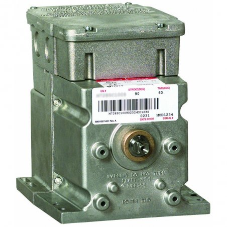M6285A1005-S motor modultrol 60 lb-in, sr, flotante con retroalimentación no lineal para esclavos serie 90, 24v